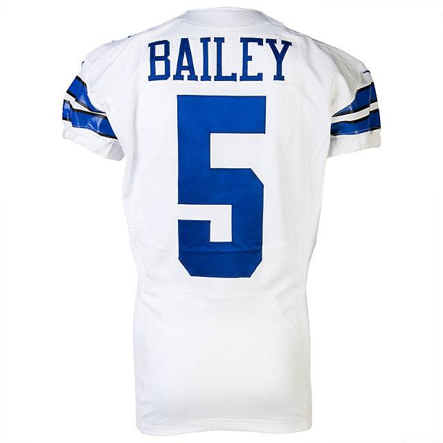 Dallas Cowboys Nike Dan Bailey #5 Game Worn 11/3/13 Jersey