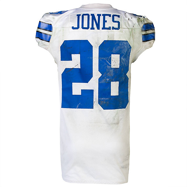 Dallas Cowboys Nike Felix Jones #28 Game Worn 2011 Jersey